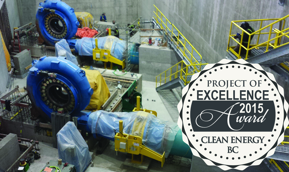 McLymont Creek Hydro Awarded Project Excellence - TurbinePROs - Canada